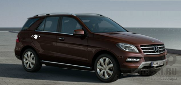 Mercedes-Benz ML W166 R19